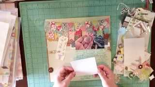 Scrapbook Process: A Gift from the Sea
