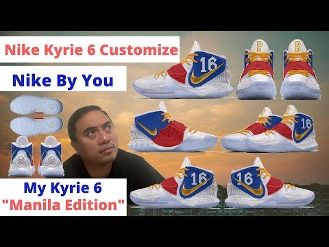 Nike Kyrie 6 Customize Your Own Nike by you.