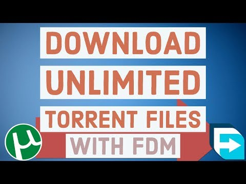 How to Download Torrent Files with FDM   Unlimited File Size Above 1gb   without torrific and zbigz