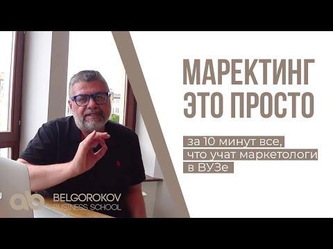 МАРКЕТИНГ - ЭТО ПРОСТО.  Маркетинг простыми словами.  Александр Белгороков
