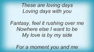 Kylie Minogue - Loving Days Lyrics