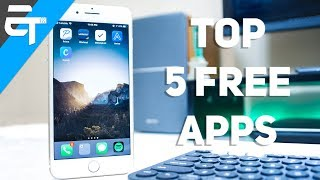 top 5 best free iphone apps april 2018