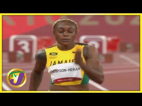 Elaine Thompson-Herah   TVJ Sports Commentary - August 25 2021