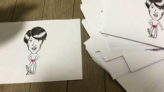 千原トークに出る際にジュニアさんのパラデル漫画を作ってみようと思い...
