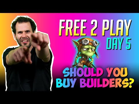 Should You Purchase Builders Day 5 New F2P Castle Clash