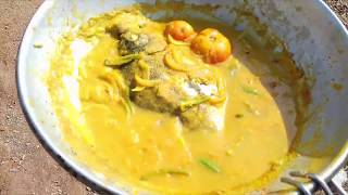 Mouth watering fish curry prepared by Bigjack