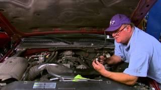 Repair/replace Oil Sending Unit On A 2001-2006 Chevorlet Silverado, Suburban, And Escalade.