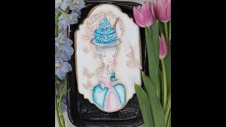 How to Design Marie Antoinette Birthday Cookies