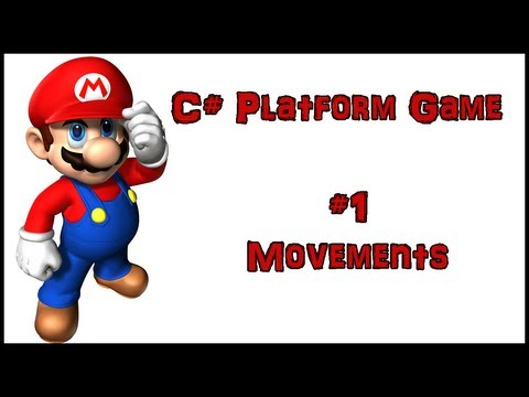 How to make a platform game in C# (#1) - Movements