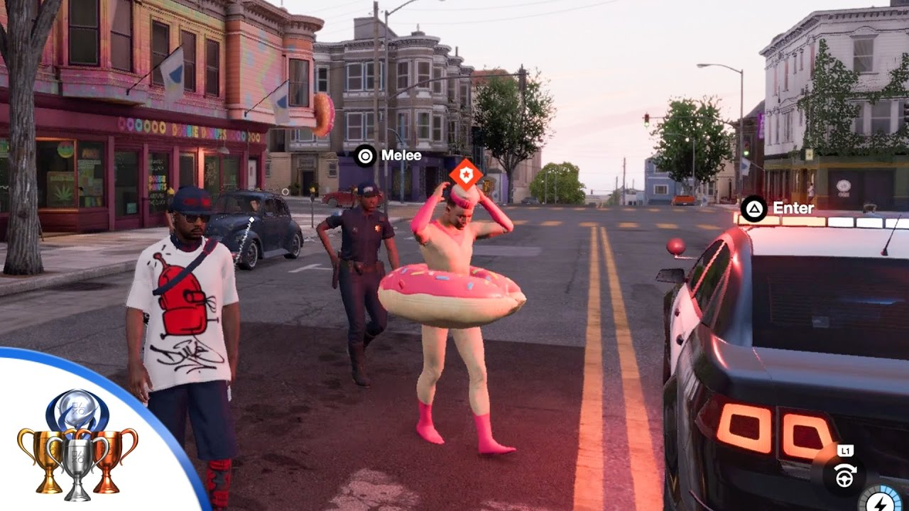 Watch Dogs  Donut Guy Map