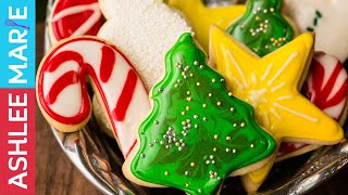 How to Make the Perfect Holiday Sugar cookies and Icing - tips for decorating