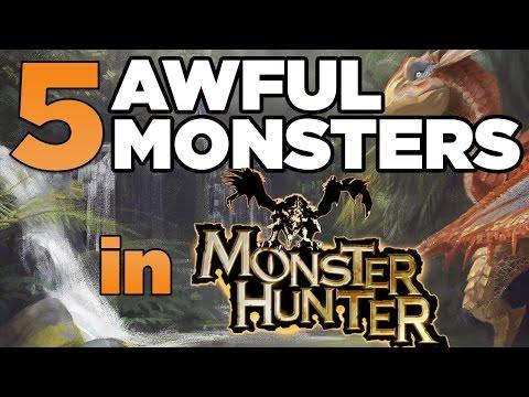 Top 5 Worst Monster Hunter Monsters
