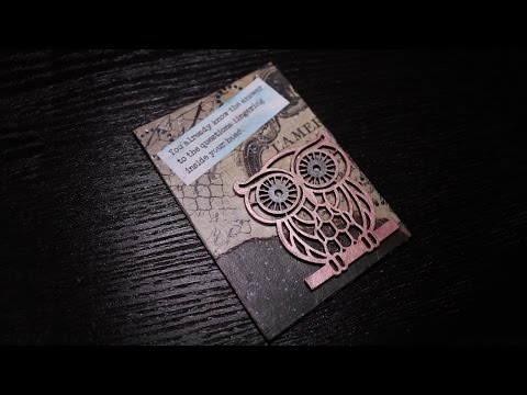 Artist Trading Card Project - You Already Know the Answer