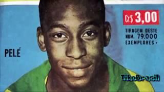 Pelé the best ● (Portuguese Spanish  Italian French English German Dutch) ● Parte 13