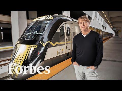 An Entrepreneur's $9 Billion Bet On High-Speed Passenger Rail In America | Forbes