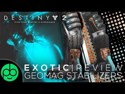 Destiny 2 Forsaken Exotic Review: The Geomag Stabilizers! (Best In Slot Warlock Boots?)