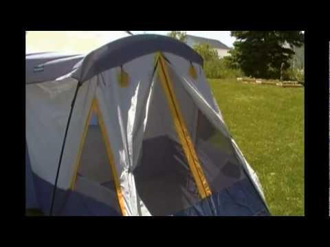 Broadstone 13 person tent review & Broadstone 13 person tent review - YouTube