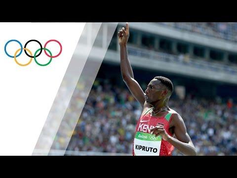 Kenya's Kipruto sets Olympic record in Men's 3000m Steeplechase