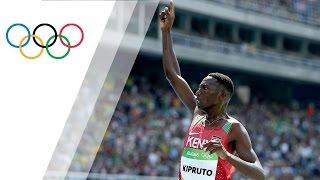 Video Kenya's Kipruto sets Olympic record in Men's 3000m Steeplechase download MP3, 3GP, MP4, WEBM, AVI, FLV September 2018