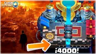 ¡¡ MAZO PARA LLEGAR A LAS 4000 Y SALIR DEL INFIERNO DE CLASH ROYALE !! [WithZack] thumbnail