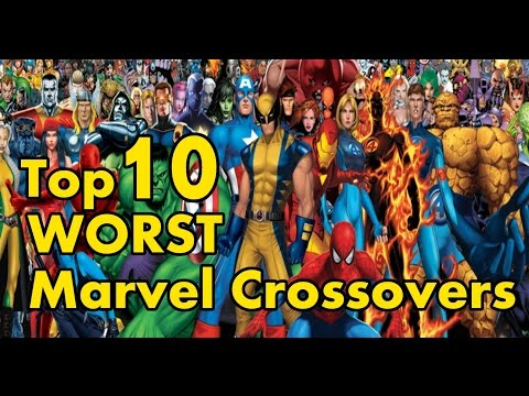 Top 10 WORST Modern Marvel Crossovers!