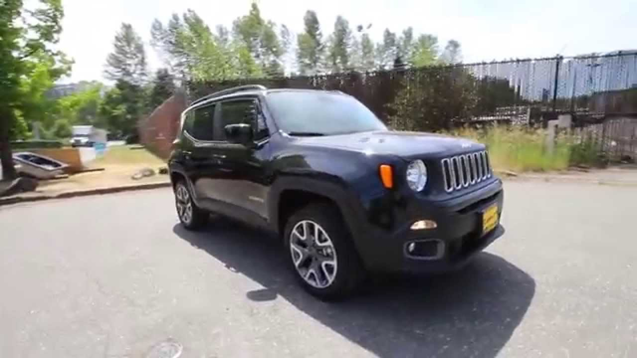 2015 jeep renegade latitude black fpb40190 redmond seattle youtube. Black Bedroom Furniture Sets. Home Design Ideas