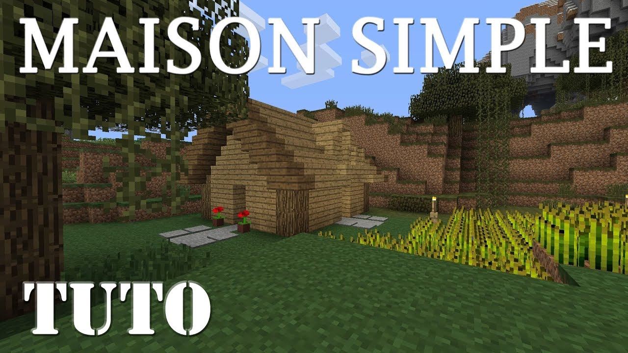 minecraft - comment faire une belle maison en survie (ps4) - youtube