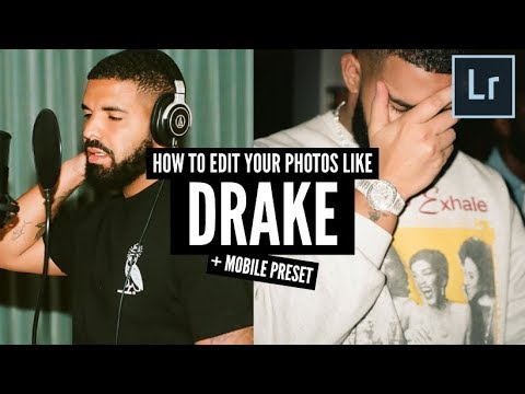 How To Edit Your Mobile Photos Like Drake + Mobile Presets