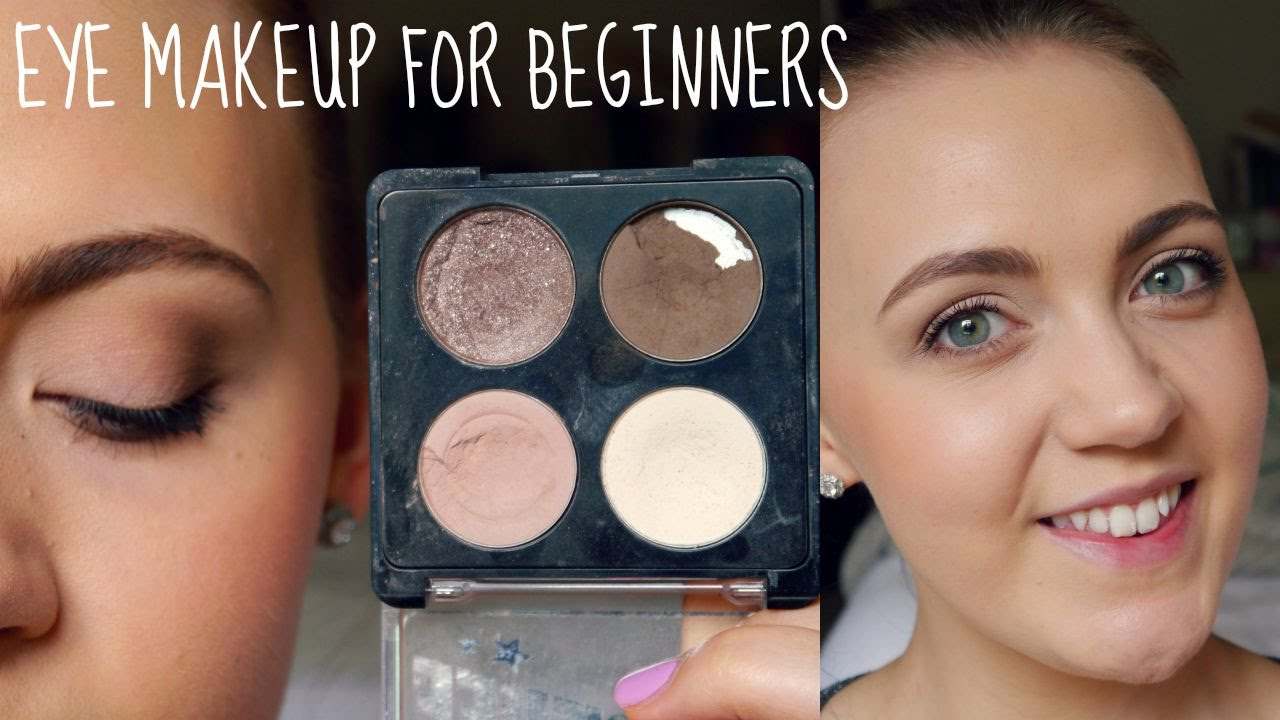 Basic Eyeshadow Tutorial Makeup For Beginners Youtube