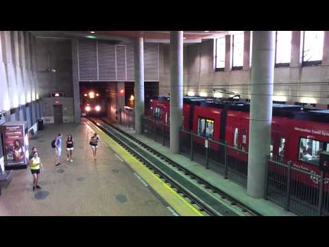 Underground Trains At San Diego State University