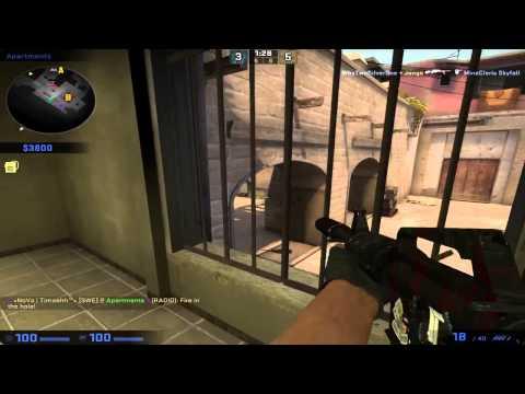CS:GO Competive EP 5 - De_Dust 2 vänta detta är Mirage?