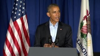 Obama: Trump's insecurity not presidential
