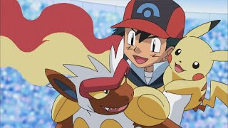¡Infernape vs. Electivire! | Pokémon: DP Los vencedores de la Liga de Sinnoh | Clip oficial