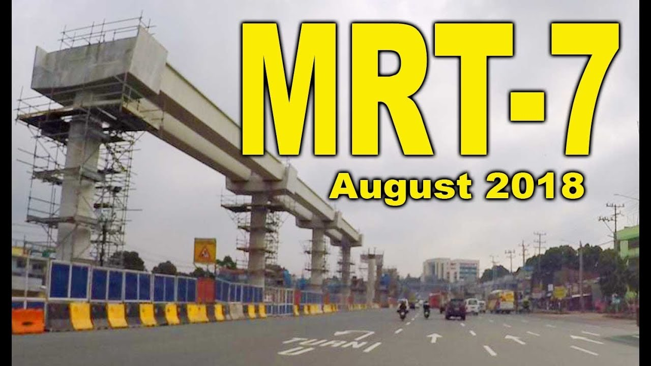 Image result for mrt 7 construction update august 2018