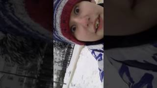 Обзор на снегокат Артема