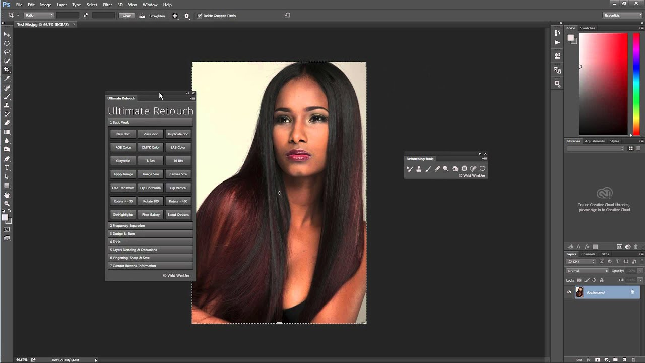 Magic retouch pro 4. 2 plugin for photoshop (win/mac) » всё для.