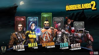 Borderlands 2: Which Character Is The Best!? & Which One Fits You The Best!?