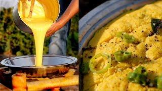 Khaman Dhokla Recipe By Nikunj Vasoya | Traditional Dhokla Recipe | Original Khaman