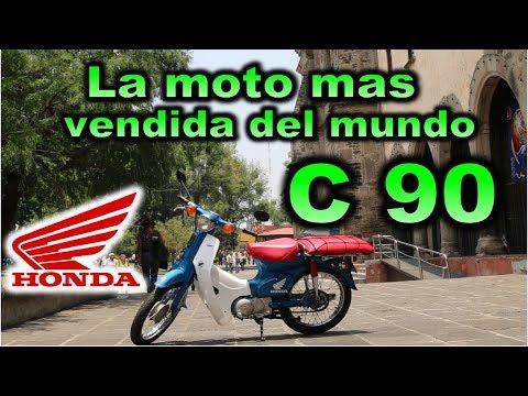 Honda C 90 Super cub La moto mas vendida del mundo Prueba  Review en Español con Blitz Rider