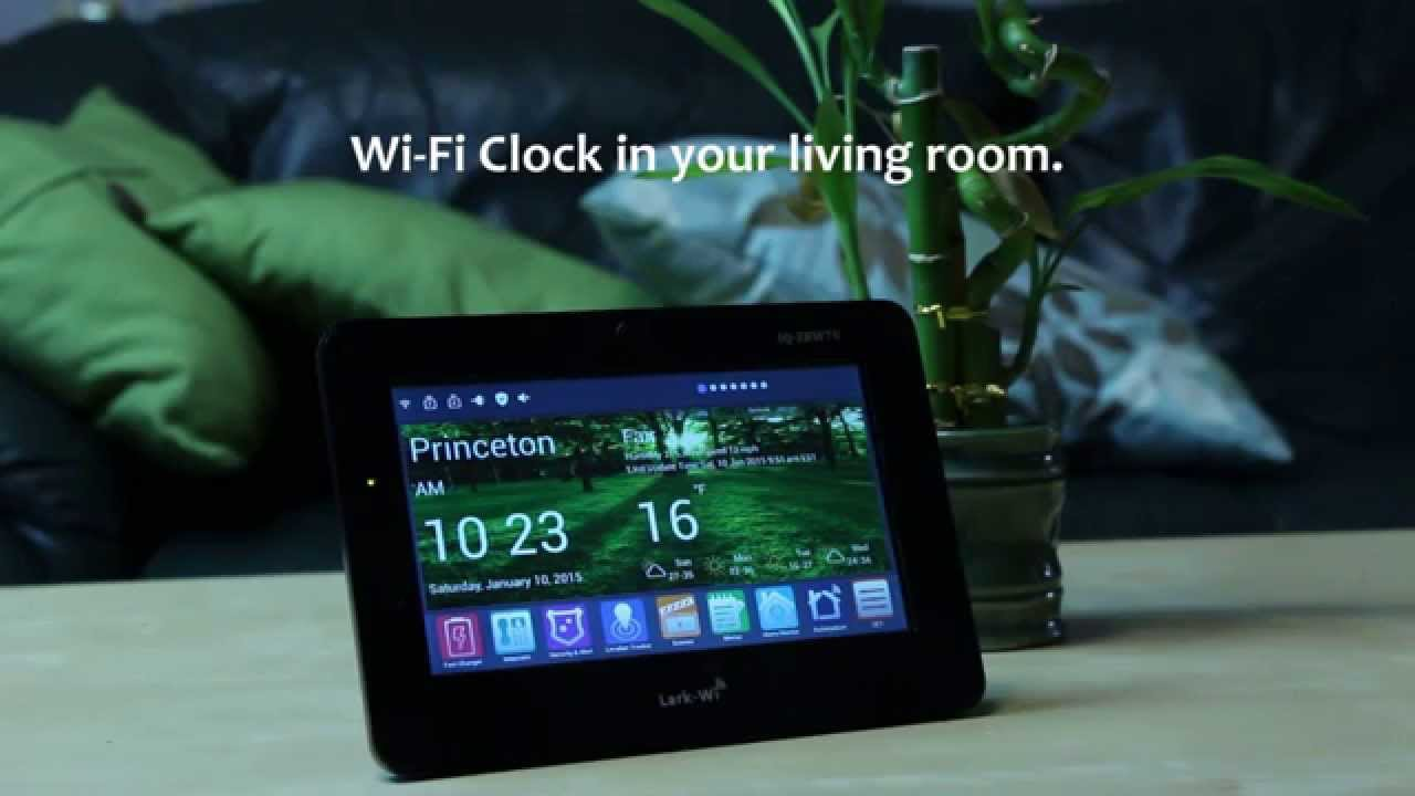 Creek Wi Fi Smart Clock Now On Kickstarter Just 39