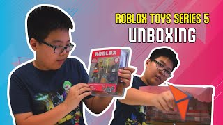 Roblox toys Series 5 Legendary Gatekeeper's Attack, Pirate Showdown, Jailbreak Great Escape Unboxing