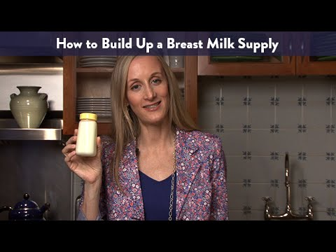 How To Build Up Milk Supply