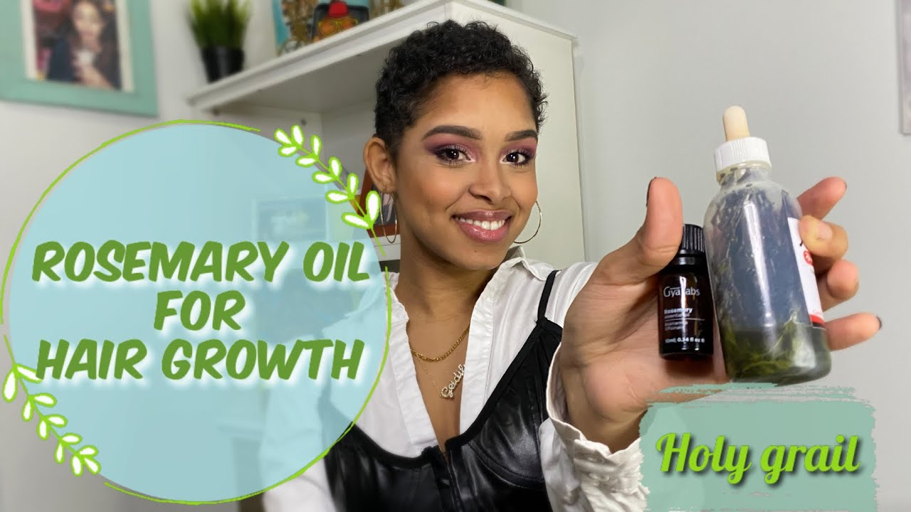 Download Rosemary Oil for Hair Growth (Telogen Effluvium) | Rosemary Vs. Minoxidil | Benefits & How to use