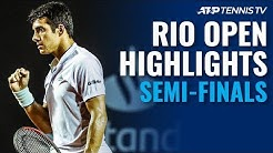 Garin, Mager Punch Tickets to Rio Final | Rio 2020 Semi-Final Highlights