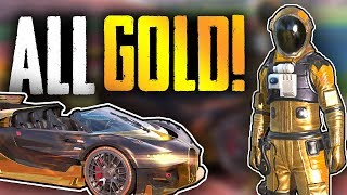 35 Kills over 2 games with full Gold Astronaut/Bugatti! | Rules Of Survival