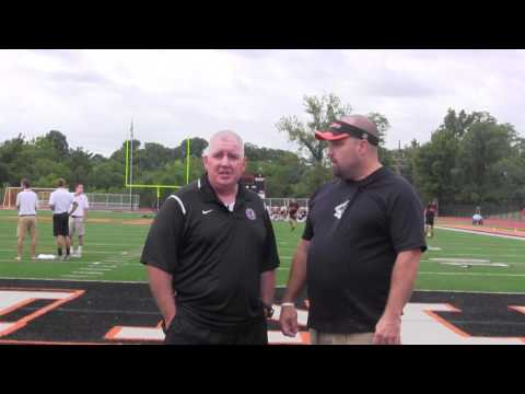 Interview Women's head soccer coach Andy Boyd August 6th, 2016
