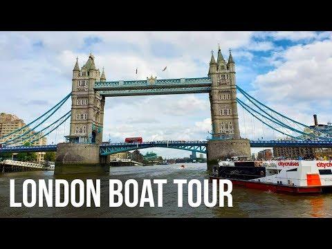 The Original Tour | London Bridge Boat Tour | City Cruises River Thames