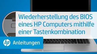 Video Wiederherstellung des BIOS eines HP Computers mithilfe einer Tastenkombination download MP3, 3GP, MP4, WEBM, AVI, FLV Juli 2018