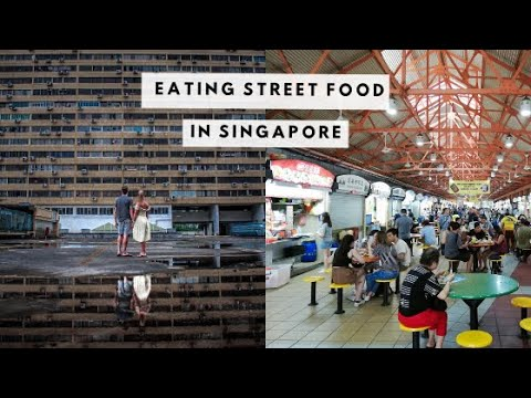 FIRST-TIME EATING SINGAPORE | Maxwell Bizaar and City mall