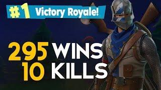 SOLO-10 KILLS 295 vitórias (Fortnite Battle Royale Free) [PT-BR]-Softe